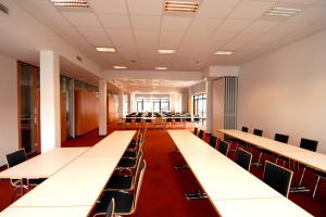 Seminarraum im Bildungszentrum von ILS